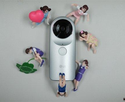 【360環景相機】肥宅的TR-LG 360 Cam