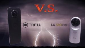 LG 360 CAM v.s. RICOH theta S 世紀對決