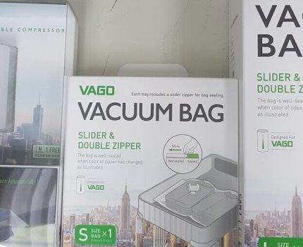 VAGO 真空收納袋|募資商品|盼了好久終於來了, 目前三創有實體展示買得到
