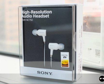 【 XZ Premium 】MDR-NC750 說好的降噪耳機終於來了 XZ系列手機