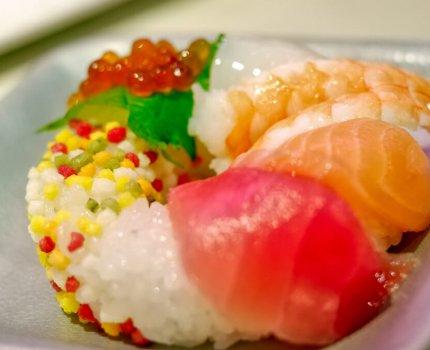 【 Uobei 魚米壽司博多 】甜甜圈壽司真的可愛又好吃