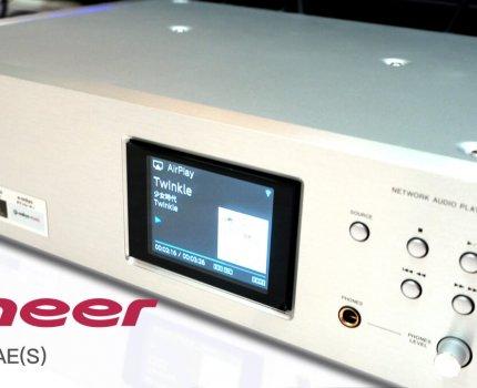 Pioneer N-70AE(S) |網路音樂串流|與USB DAC的完美結合的播放器