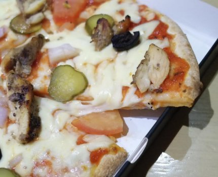 【阿布達比機場美食】Bricco 阿布達比機場 轉機美食 比薩