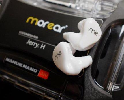 morear|六單體客製耳機|me6 台灣客製化品牌 CIEM