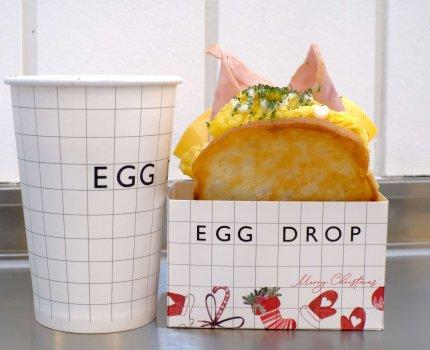 韓國釜山|Egg Drop|超紅人氣蛋土司,韓國必吃早餐