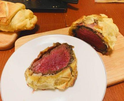 食譜|威靈頓牛排|Beef Wellington 從買材料手把手教你做
