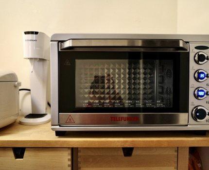 TELEFUNKEN 德律風根|45公升旋風烤箱,多段式溫度時間調控,掌握發酵烘培與烹調最佳利器